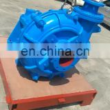 8X6E Industrial Centrifugal concrete ash slurry pump