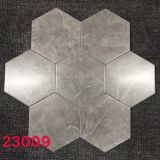 20x23cm Gray Marble Hexagon Ceramic Tile