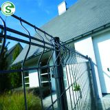 Wide range metal fencing posts security fence system