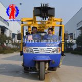 XYC-200A tricycle-mounted water well drilling rig Huaxiamaster sale 200m depth  drilling machine