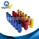 Rays racing Car aluminum alloy Colorful close end 50mm length whitch lock wheel lug nut P1.5&P1.25