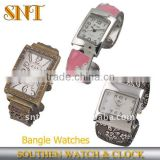 big dial alloy bracelet wrist watch