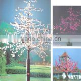 972leds,2M,75W,2012 hot selling LED light tree/cherry blossom led tree lamp,Rich colors(Red,Green,Pink,Blue,Yellow)