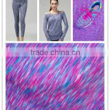 lycra nylon spandex fabric knitting textile factory for making shoes
