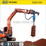 ground hole drill earth auger auger with gear box new product construction machinery