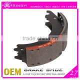 oem heavy duty truck 4707 lined brake shoes/auto brake system