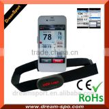 Smart Phone Accessories Heart Rate Monitor Bluetooth 4.0 Chest Strap Pulse Device Apps Ready