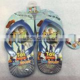 2015 buzz woody children slippers cartoon Flip flops toy story shoes Summer Beach shoes