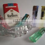 Chinese cigarette lighter transparent electronic lighter FH-606 smoking accessories
