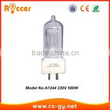 professional 500w power china suppliers A1 244 high quality brand new for spot quartz bulb 500W 230V lamp