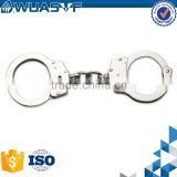 police carbon steel nickel finish handcuff