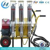 Paving stones splitting machine/petrol Driven Hydraulic Rock Splitter skype:sunnylh3