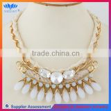 CHINA FACTORY SALE braided rope necklace for baseball