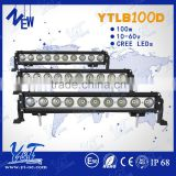 The most powerful led light bar ! top-quality 20inch 100w offroad led light bar, auto led light bars arch bent