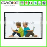high quality electronic magnetic flexible whiteboard with penholder ceramic smart board with cheap mobile stand