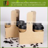Widely use professional made cardboard coffee cup holder