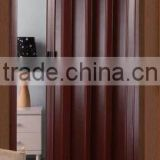 Plastic door divider wood folding partition wall doors for closet