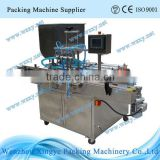 4 nozzles Automatic piston juice filling machine with horizontal fillers