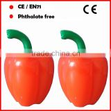 PVC inflatable red Pepper for promotion inflatable vegetable