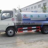 mobile water transporting car, LHD&RHD Water tank truck, 8000L Water bowser tank capacity