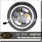 Low-Power-consumption and cool operation new 7 inch led headlight newly factory led headlight