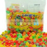 500g Jelly Drops, Sugar coated candy, Jelly sweets