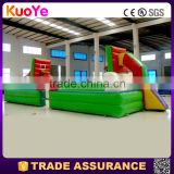 commerial grade factory price basketball court type inflatable playground,inflatable sport games for sale