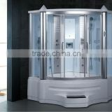 Steam showe room for 2 person bathroom shower cabin shower doors with spa indoor bathtub G151