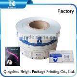 Customized designAluminum Foil Laminated Paper,aluminum foil wrapping paper for wet cleaning wipes Lens Cleaning Tissue