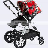 wheel baby carriage