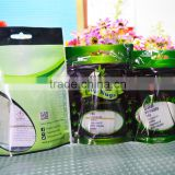 eco friendly reusable high quality printed zip lock plastic seedling bags for packing