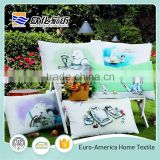 Hot Selling 100% Cotton Beautiful Animal Cartoon Pattern Print Pillow Cushion                                                                         Quality Choice