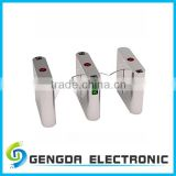 304 stainless steel modern design full automatic electric flap barrier gate for parking lots