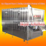 Automatic continuous baking machine(roaster /oven/roasting machine ) peanuts/pumpkin seed/sunflower seed/cashew nut/almonds/meat