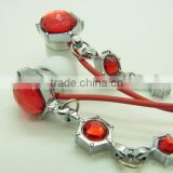 jewelry bling crystal earbud for girls