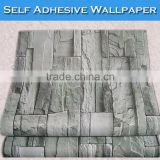 SINO Wall Fashion Natural Stone 3D Wallpaper Decorative For Bar                                                                         Quality Choice