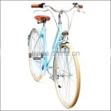 Custom branded old fashioned ladies city bicycle for netherlands market city bicycle
