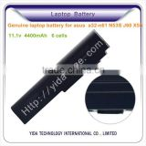 Factory wholesale li-ion laptop battery pack for Asus A32-M50 A32-N61 A32-X64 A33-M50