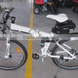 26 inch Foldable Pedelec Electric Bicycle with KMC brand Rust resistant chain XY-TDE09Z