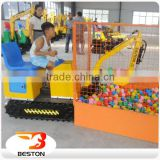 Amusement equipment games machine kids sand digger, Interesting amusement rides sand excavator toy
