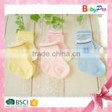 Hot Sale Baby Products 2015 Buy Direct from China Factory High Quality 100% Cotton Baby Socks Newborn Baby Socks Plain Socks