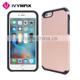 Fashion Hybrid Cell Phone Case Shell Cover Protective For iPhone 6/6S rose gold