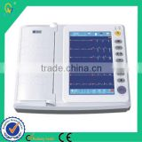 Examination Therapy Type Chinese Potable Handheld Digital 12 Channels Newest ECG Machine
