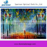 Top Selling Led Canvas Flower Oil Painting For Sale