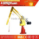 min lifting equipment assembly line applied mini balance jib crane