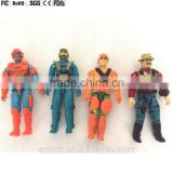 3.75 inch custom made military action figure toys,vintage style 3.75inch military action figure