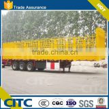 2 axles livestock and poultry stake /fence truck semi trailer equipment store house bar semi trailer truck