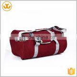 Bright colors canvas material sport drawstring duffle bag