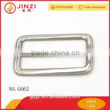 Competitive price and adjustable buckle for webbing,zinc alloy square buckle manufacturer