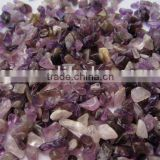 Small Amethyst Quartz Crystal Tumbled Stone